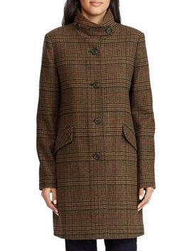 Stand Collar Coat by Lauren Ralph Lauren