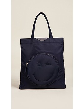 Wink Chubby Nylon Tote by Anya Hindmarch