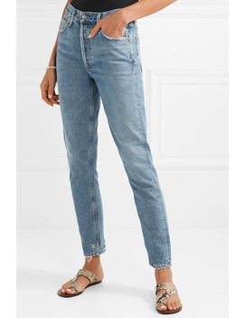 Jamie High Rise Straight Leg Jeans by Agolde