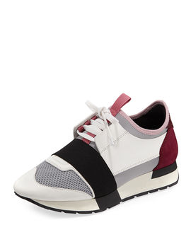 Classic Colorblock Runner Sneakers by Neiman Marcus