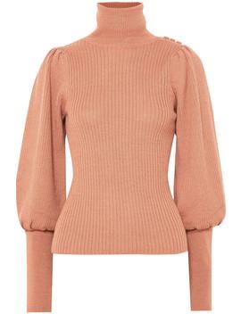 Brynn Alpaca And Silk Blend Turtleneck Sweater by Ulla Johnson