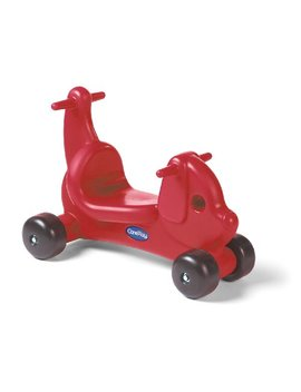 Careplay Ride On Play Puppy Critter, Red by Careplay