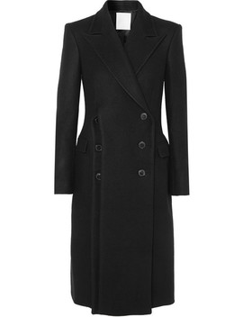 Double Breasted Wool Coat by RŪh