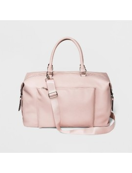 Zip Closure Weekender Bag   Wild Fable™ Pink by Wild Fable