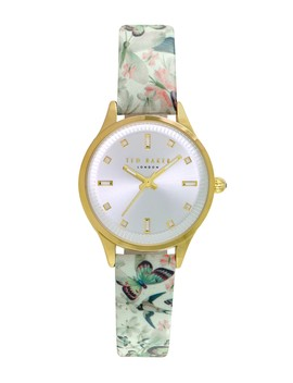 Women's 3 Hand Leather Strap Watch, 32mm by Ted Baker London