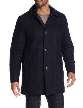 Barcelona Wool Blend Coat by Hart Schaffner Marx