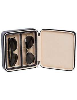 Bey Berk  Two Sunglass Travel Case  by Bey Berk