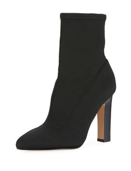 Keyan Stretch Fabric Sock Booties by Neiman Marcus