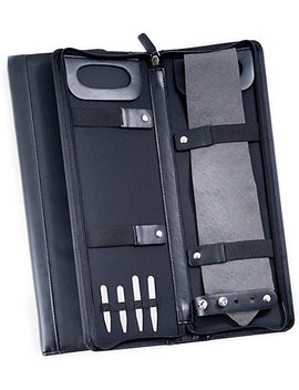 Bey Berk Ballistic Black Travel Tie Case by Bey Berk