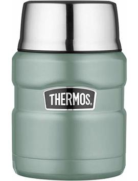 Thermos Food Flask, Stainless Steel, Duck Egg, 470ml by Thermos