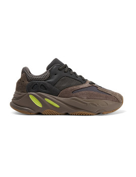 Yeezy 700 Leather, Suede And Mesh Sneakers by Adidas Originals