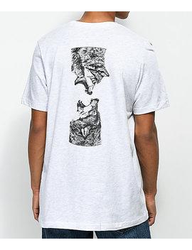 Sovrn Geri & Freki Ash T Shirt by Sovrn