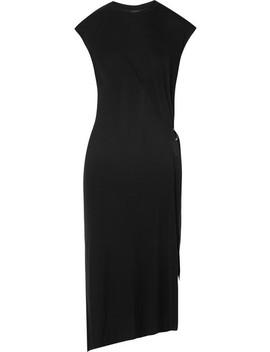 Ophelia Asymmetric Stretch Knit Midi Dress by Rag & Bone