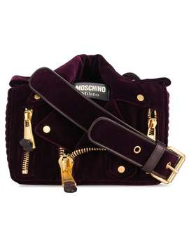 collar-shoulder-bag by moschino