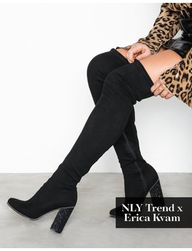 Glam Thigh High Boot by Nly Shoes