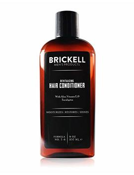 Brickell Men's Revitalizing Hair Conditioner For Men – 8 Oz – Natural & Organic by Brickell Men's Products
