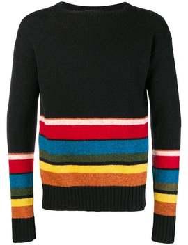 Shetland Striped Sweater by Prada