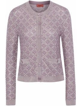 Metallic Crochet Knit Cardigan by Missoni