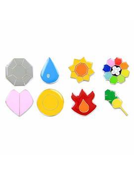 Pokemon Gym Badges: Gen 1   Kanto (Clear Coating, Iron) by Pkmnbadges