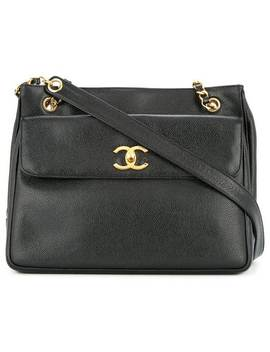 Cc Chain Shoulder Bag by Chanel Vintage