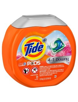 Tide April Fresh Downy Pods   54ct by Tide