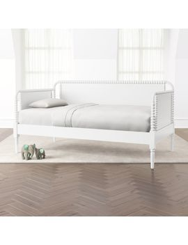 Jenny Lind White Daybed by Crate&Barrel