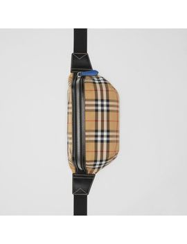 Medium Vintage Check Bum Bag by Burberry