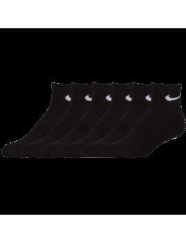 Nike 6 Pack Cotton Quarter Socks by Foot Locker