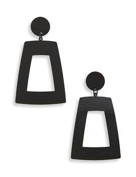 Geometric Drop Earrings by Canvas Jewelry