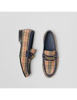The 1983 Check Link Loafer by Burberry