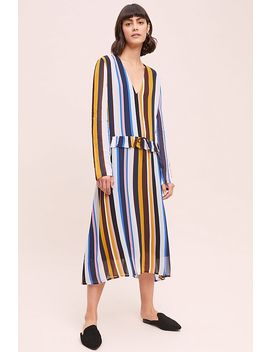 Romain Striped Dress by Just Female