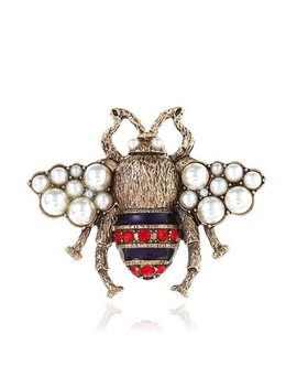 Gucci Inspired Bee Brooch Pin by Etsy