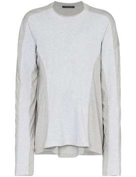 Grey Long Sleeve Double T Shirt by Y / Project