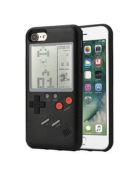 Etbotu Phone Case Handy Cover, Mit Retro Spiel Tetris Classic Konsole, Für I Phone 6/6 S, 6/6 S Plus, 7/8, 7/8 Plus (Ohne Akku) Models:I Phone 6/6 S Schwarz by Amazon