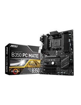 Msi B350 Mainboard Atx by Amazon