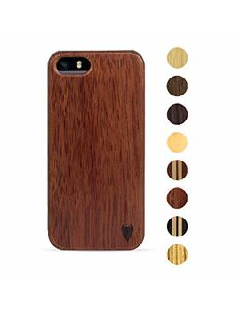Apple I Phone Se / 5 S / 5 Hülle Aus Holz (Palisanderholz)   Media Devil Artisancase by Amazon