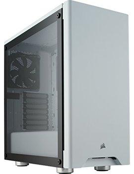 Corsair Carbide 275 R Gaming Pc Gehäuse (Mittlerer Atx Turm Mit Gehärtetem Glas Window) Weiß by Amazon