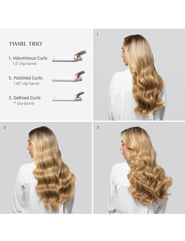 Twirl Trio Convertible Curling Iron by T3