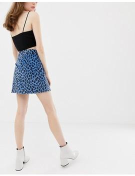 Glamorous Mini Skirt In Leopard by Glamorous