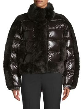 Daydreamer Faux Fur Puffer Jacket by Opening Ceremony