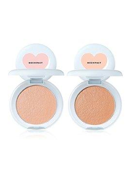 Chosungah Beauty Sixteen 16 Mochi Pact 4colors Made In Korea Cosmetic By Juny Shop (Ml01.Peach Light) by Chosungah Beauty
