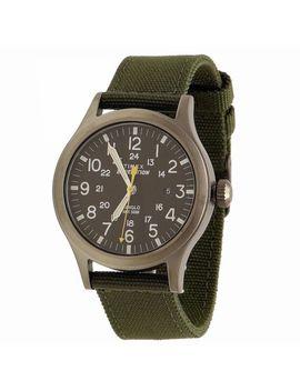 Timex Men's Expedition Scout T499619 J синяя подсветка черный/зеленый/белый аналоговые часы by Ebay Seller