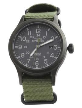 Timex Men's Tw4 B04700 Expedition Scout 40, Черный/Зеленый аналоговые часы by Ebay Seller