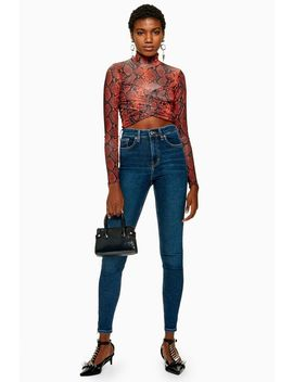 Authentic Zip Hem Jamie Jeans by Topshop