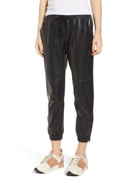 Ankle Zip Jogger Pants by David Lerner