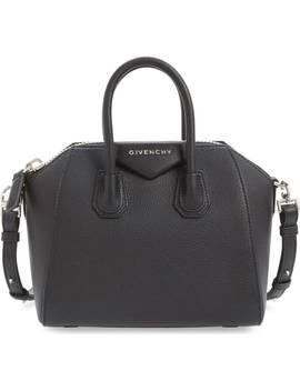 'mini Antigona' Sugar Leather Satchel by Givenchy