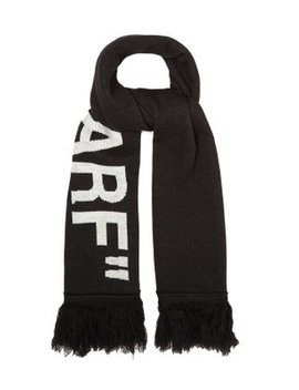 Quote Scarf by Off White