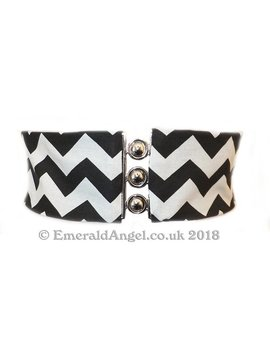 Chevrons, Twin Peaks Inspired Elastic Cinch Belt, Any Size by Etsy