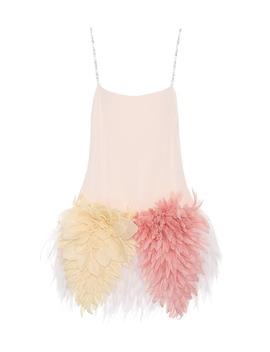 Embellished Silk Dress by Miu Miu