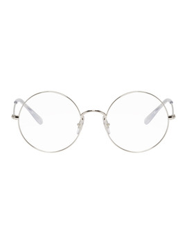 Silver Youngster Round Glasses by Ray Ban